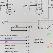 wiring diagrams heat pump units geothermal water source heat pump diagram