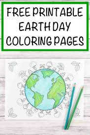 Have your imagination go wild and wide. 20 Earth Day And Environmental Coloring Pages The Artisan Life