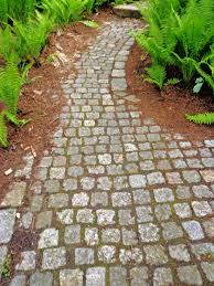 Lawn & Garden:Stone Pathways In European Botanic Garden Design Idea  Fascinating Garden Pathway Landscaping