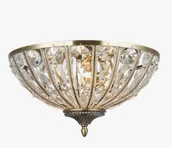 alison crystal glass antique brass