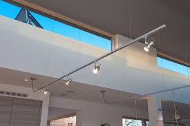 Suspended Track Lighting System: Hampshire Light | Modern New Build Bungalow  Pinterest a
