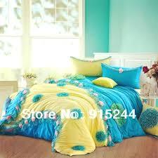 pink and yellow duvet covers blue yellow korean princess bed skirt ed bed sheets 6pcs set