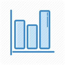 Commerce Chart Ecommerce And Shopping Blue By Iconpack