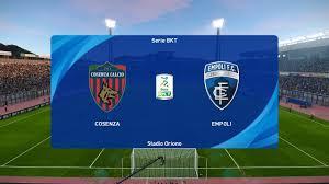 PES 2021 | Cosenza vs Empoli - Italy Serie B | 04/01/2021