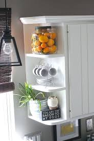 Corner Cabinet Shelving Unit Inspiration Corner Kitchen Shelf Corner Counter Shelf Corner Kitchen Shelf