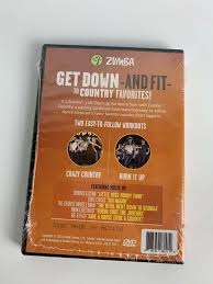 Zumba Country Dance Fitness Music Workout Dvd D0d00313 Sports Exercise Videos