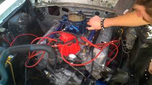 1984 Mustang GT-350 357W Open Headers First Start-up - YouTube