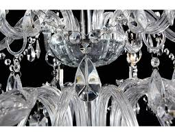 french provincial glass chandelier 18 arms ceiling lighting clear
