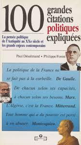 100 Grandes Citations Politiques Expliquées