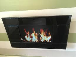 focal point evoke lcd electric wall mounted fire
