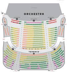 Music Hall Seating Chart Seating Chart