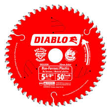 7 1 4 metal cutting blade. diablo 5-3/8 in. x 50-tooth 20 mm arbor non-ferrous metal/plastic cutting trim saw blade-d0550n - the home depot 7 1 4 metal blade e