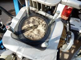 polini thor 130 piston run with avgas