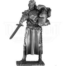 pewter tristan and chair sculpture metr006 from leather armor leather armour steel armor sca armor larp armor meval armor fantasy armor from dark