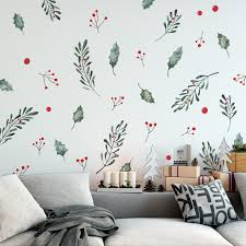 Christmas Holly | Holiday Decals | Urbanwalls
