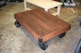 factory cart coffee table factory cart coffee table white industrial factory cart coffee table projects factory