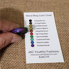Mood Ring Chart 10pcs Charm Natural Stone Hematite Mood Ring S For Men Women Spinner Womens Mens S Jewelry Boho Wedding Lol Party