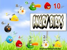 Angry Birds Behavior Chart Angry Birds Behavior Charts And Many More Behaviour Chart