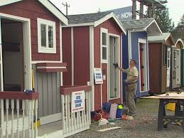 Small Picture North Seattle homeless tiny house village to open Wednesday