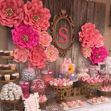 Paper Flower Background Us 79 98 11pcs Giant Paper Flowers And Leaf For Princess Birthday Party Decor Photo Booth Backdrop Background In Artificial Dried Flowers From