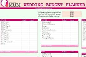 Free Downloadable Wedding Planning Spreadsheet