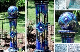 Decorating Bowling Balls Marbles Interesting Recycling Bowling Balls To Make Garden Art Flea Market Gardening