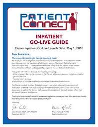 Inpatient Go Live Guide By Good Shepherd Rehabilitation