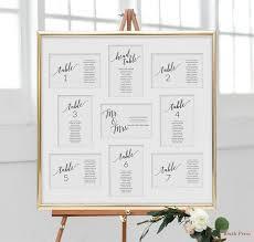 Wedding Seating Chart Cards Template Wedding Seating Chart Cards Template Printable Wedding Seating Cards Seating Chart Wedding Framed Or Hanging Seating Plan Cards Sav 040
