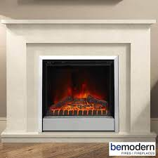 be modern newgale electric fireplace suite manila micro marble surround
