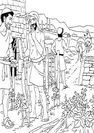 Parable Of The Talents Coloring Page Bible Coloring Pages Parable Of