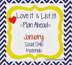 Love It List It Social Skills Linky Party Speech