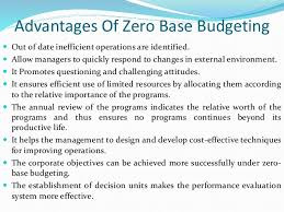 Project On Family Budget For A Month Zero Base Budgeting