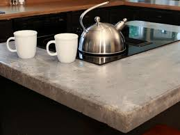Cool Set Counter Along With Place How To Make A Concrete Counter Diy in  Concrete Kitchen