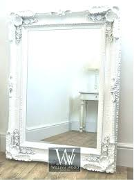 mirrored picture frames 8x10 white vintage picture frames