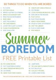 60 things to do when you re bored
