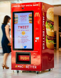 How To Get Free Food From A Vending Machine Beauteous McDonald's Australia On Twitter Grab A FREE Special Sauce At