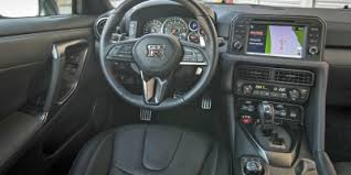 Interior Of The 2017 Nissan GT-R