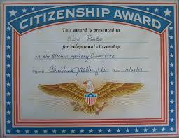 Citizenship Awards Civics