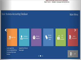 27 Images Of Template For Accounting Access Database Leseriail Com