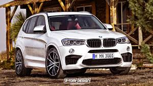 All BMW Models blacked out bmw x3 : Potential BMW X3 M Rendered - GTspirit