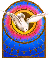 the holy spirit is the 3rd person of the blessed trinity and the one most active in the world today the says that the holy spirit created