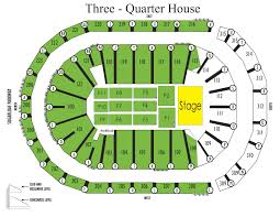 Xfinity Theater Seating Chart With Seat Numbers Seating Charts Infinite Energy Center