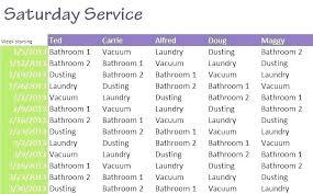 Household Chore Chart House Chore List Daily Cleaning List Household Chore Chart For