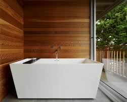 Small Picture Creating A Natural Feel With Wood In Contemporary Bathrooms