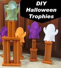 diy trophies for trunk or treat