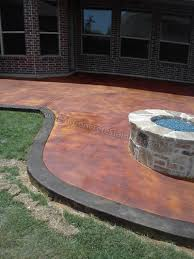 stained concrete patio. Acid Stained Concrete Patio South Lake, TX Stained Concrete Patio D