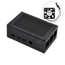 Raspberry Pi 4 Metal Case For Raspberry Pi 4 Model B Case and ...