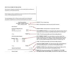 Bank Reconcilation 50 Bank Reconciliation Examples Templates 100 Free