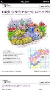 perennial garden plans flower garden