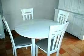 Petite Table Ronde De Cuisine Table De Salle à Manger Extensible